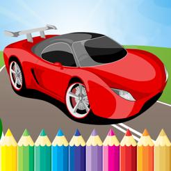 Super Araba Boyama Kitabi Hd Cocuk Ucretsiz Oyun Boya Ve Renk