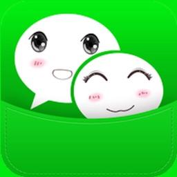 朋友圈小尾巴斗图神器表情包for微信QQ-微Q表情键盘