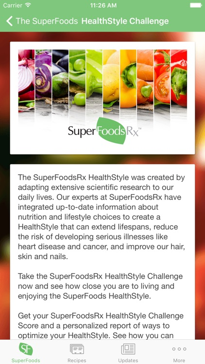 SuperFoodsRx - Essential Guide To Your Nutrition, Health & Wellness