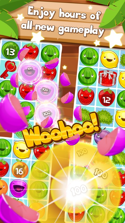 Fruit Pop! Puzzles in Paradise - Fruit Pop Sequel screenshot-2