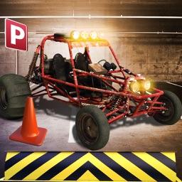 Multi Level Buggy 3D Parking Simulator - Monster Car Driving School Test
