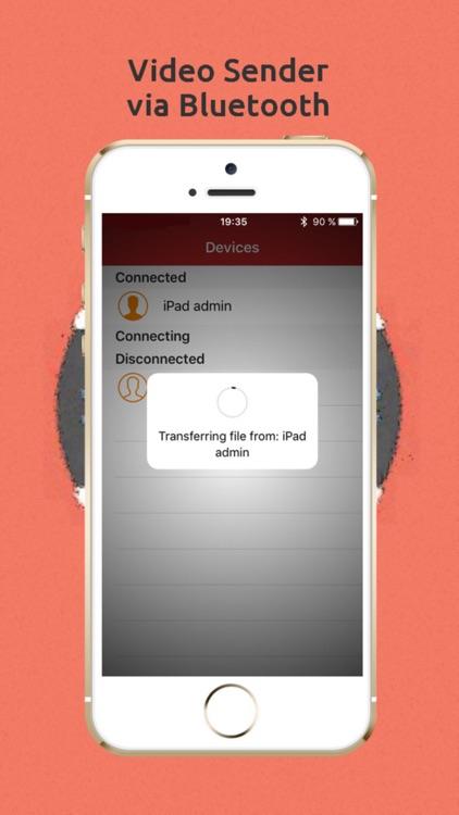 Photo & Video Sender via Bluetooth screenshot-3