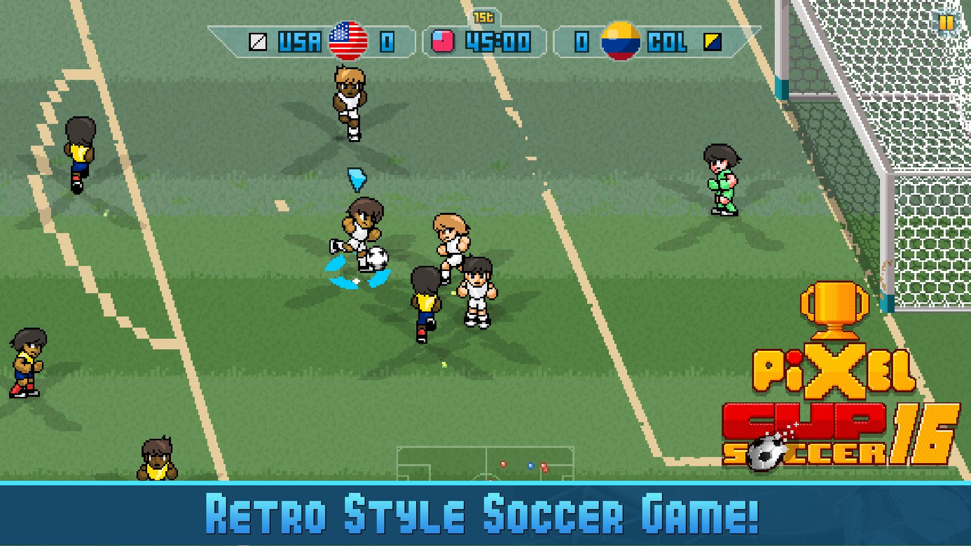 Pixel Cup Soccer 16 screenshot 11