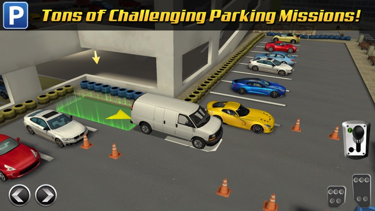 Multi Level 3 Car Parking Game Real Driving Test Run Racing screenshot-3