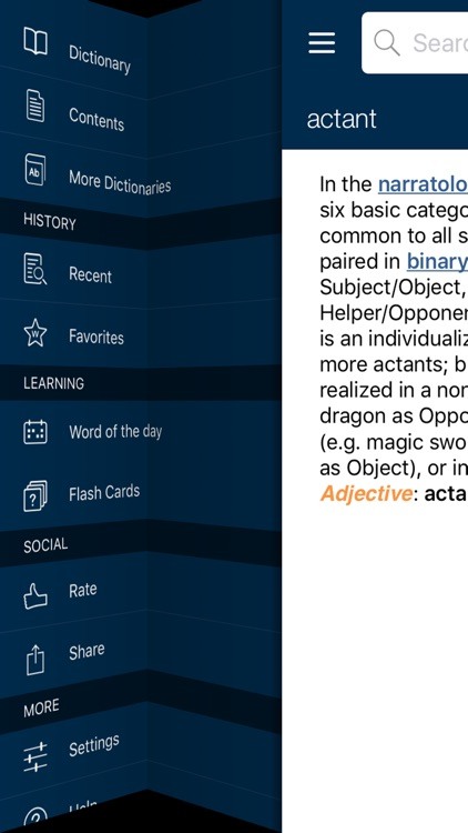 Oxford Dictionary of Literary Terms screenshot-3