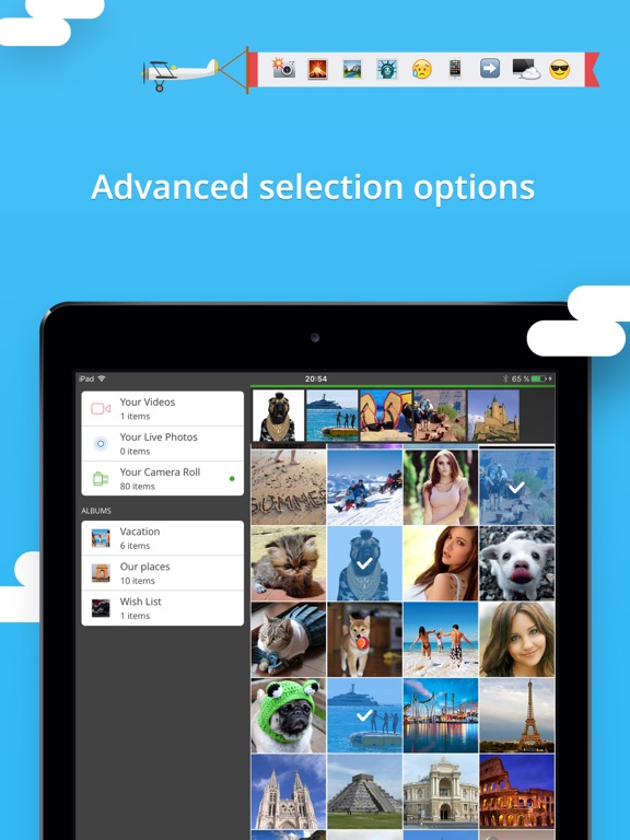 Screenshot #5 for Photo Transfer 3.0 wifi - share and backup your photos and videos