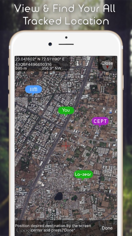 Commander Heading Compass - Minimalist, Digital GPS Finder screenshot-4
