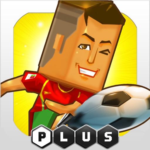 POCKET FOOTBALLER PLUS - A football player game icon