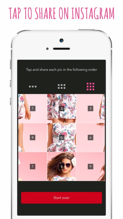 Big Photo - Create and Upload Tile Banners for Instagram