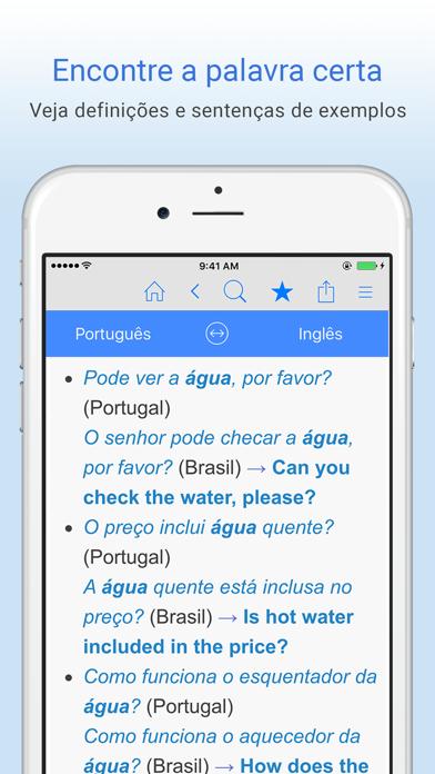 Dicionário Português-Inglês - Tradução screenshot three