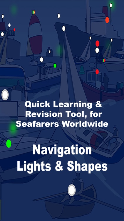ColRegs: Nav Lights & Shapes for Boating and Sailing