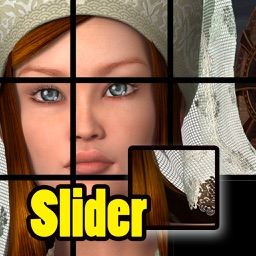 Picture Slider Puzzle - the Puzzle of Moving Pieces