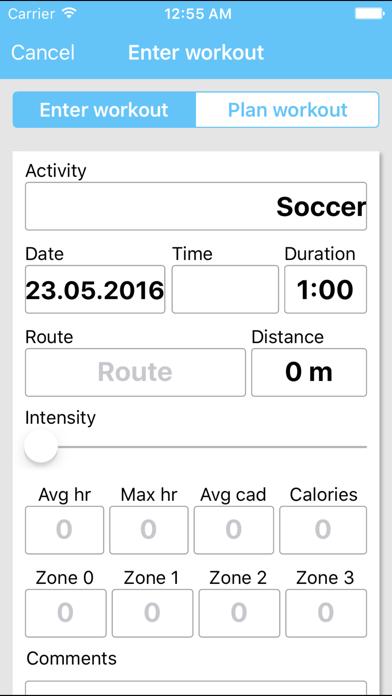 Sportlyzer Pro Player App screenshot three