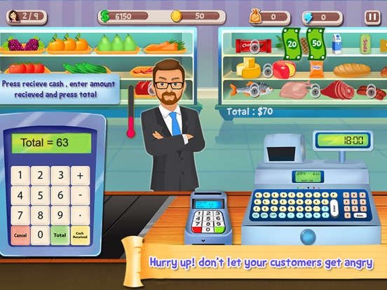 Cash register simulation game dubuque gambling casino