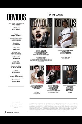 OBVIOUS (Magazine) - náhled