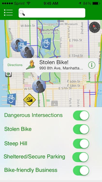 Get There By Bike - Interactive Bike Maps for the Urban Commuter screenshot-3