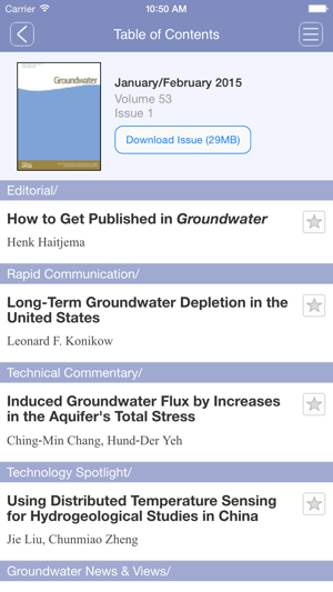 Groundwater app on the App Store
