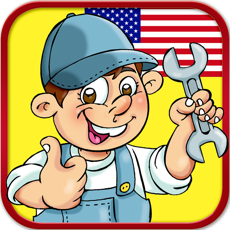 Activities of English Basic Concepts 4 - Professions for Kids. Pick the right answer!