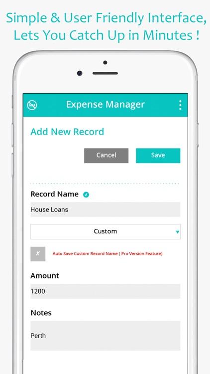 Money Expense Manager (Spending & Saving Planner) screenshot-3