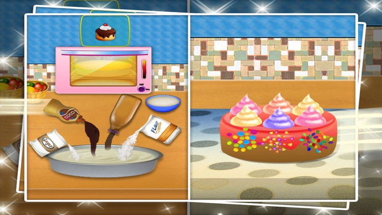 mom's cooking fever mania : free cooking games for kids screenshot-3