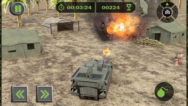 Army Cargo Plane Flight Simulator: Transport War Tank in Battle-Field screenshot-4