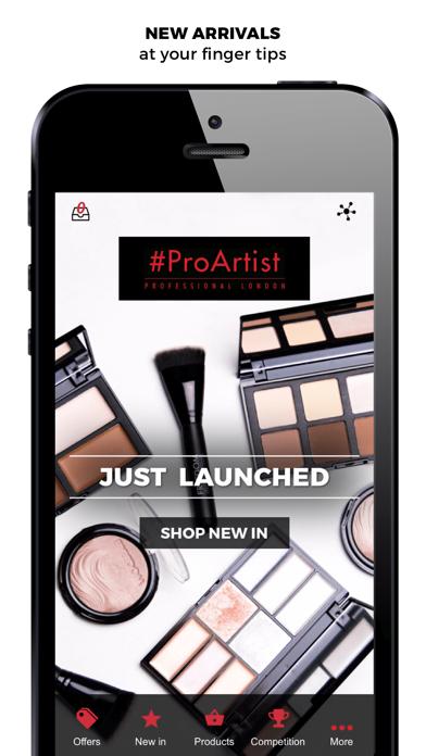 #ProArtist Freedom Makeup London