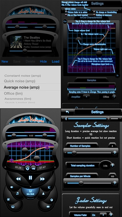 AutoVolume Lite ~ Self Adjusting Volume ~ Detect outside noise and automatically decrease or increase music volume loudness in your headphones screenshot-3