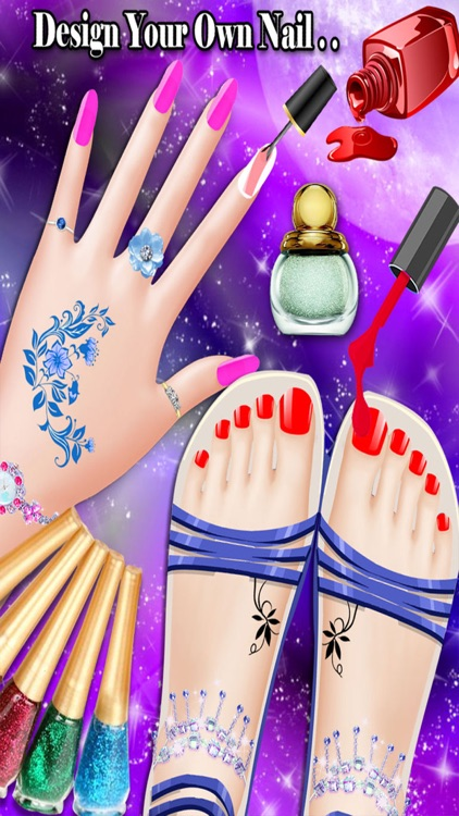 Manicure Pedicure and Spa Games for Girls, teens and kids