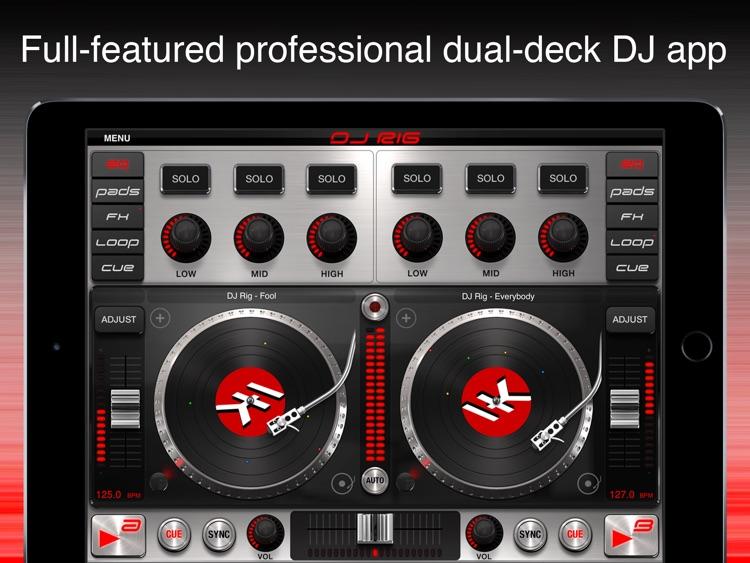 DJ Rig for iPad screenshot-0
