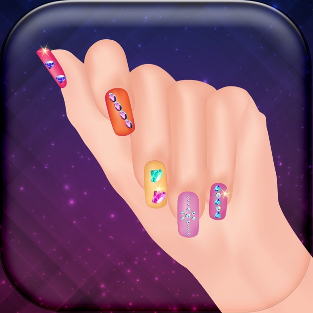 3D Nail Spa Salon – Cute Manicure Designs and Make.up Games for ...