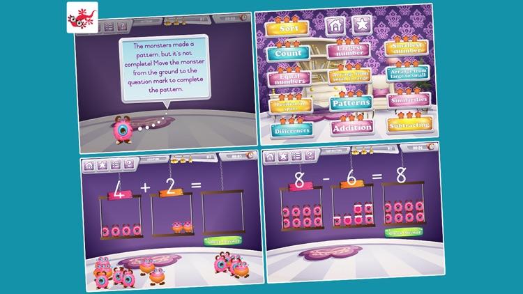 Friendly Math Monsters for Kindergarten screenshot-3