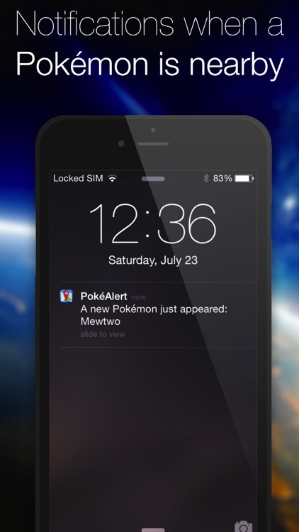PokéAlert - Push Notifications for Pokémon GO