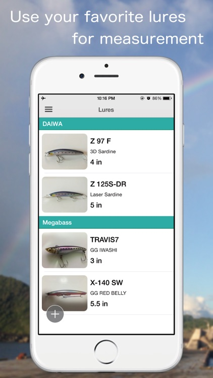 FISHPOCKET - Fish Measuring App screenshot-2