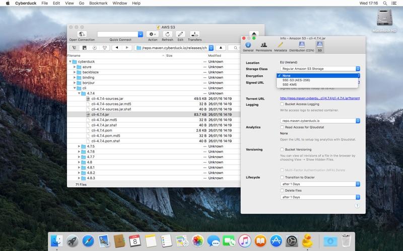 FTP工具 cyberduck  for Mac