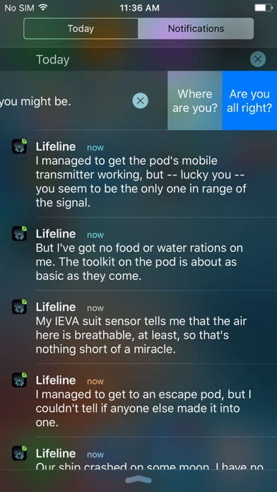 Lifeline... Screenshot 5