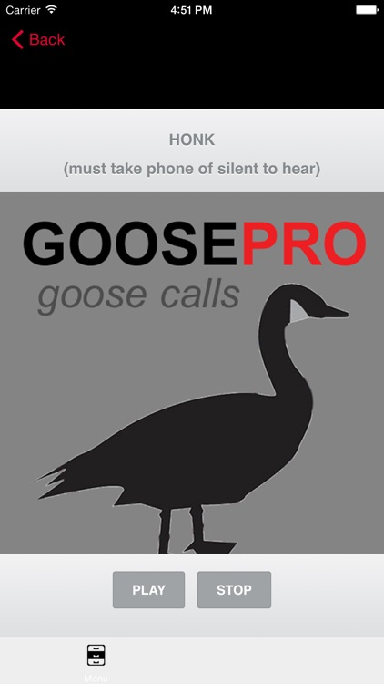 Canada Goose Calls & Goose Sounds for Hunting - BLUETOOTH COMPATIBLE screenshot-0