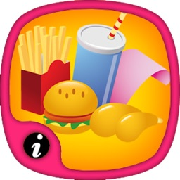 Name of Foods and Learn Quantities - The best food trivia Flashcard  games