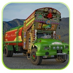 Truck Driving Hill Simulation