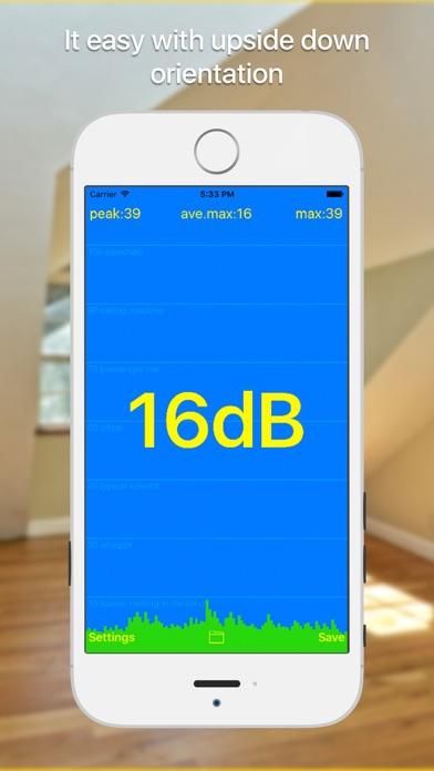 Screenshot #4 for dB meter - noise measure