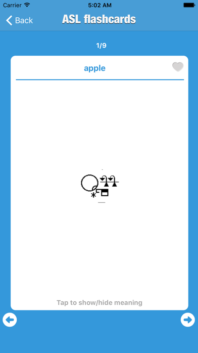 Write Sign Language Dictionary - Offline AmericanSign