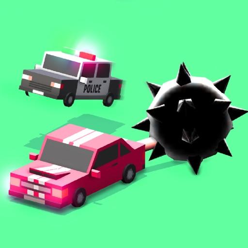 Полиция войны 3 - армия автомобиль битва