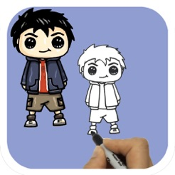 learn how to draw cartoon characters on the app store