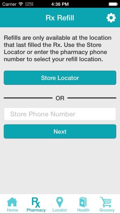 ShopRite Pharmacy App