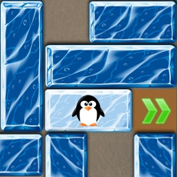 Unblock the Ice! - sliding puzzle