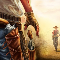 Wild-West Cowboy Real Shooting Game 3D