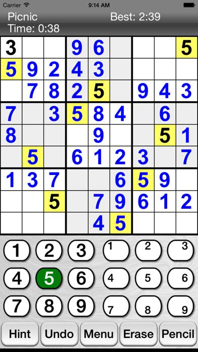 :) Sudoku + screenshot one