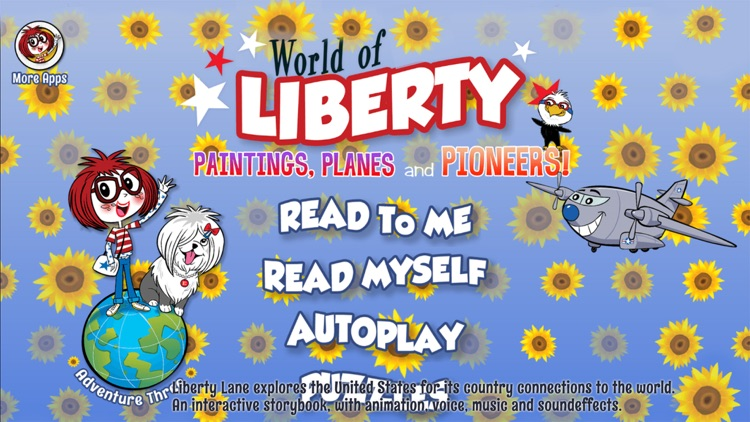 """World Of Liberty """"Paintings, Planes and Pioneers"""" screenshot-0"""