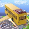 Futuristic Flying Bus Pilot - Extreme Rescue Bus Flight and Transport 3D Simulator