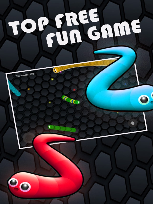 Cán rắn Đói ăn Màu Dot: Worm bản miễn phí trò chơi