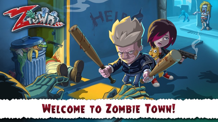 Zombie Town Story screenshot-0